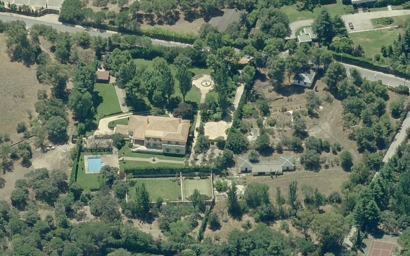 La casa que tiene David Beckham en la urbanización de La Moraleja