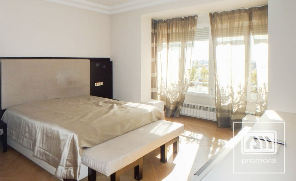 Dormitorio principal ático