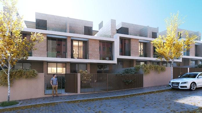 Chalets de obra nueva en montecarmelo blog de inmobiliaria promora - Chalets obra nueva arroyomolinos ...
