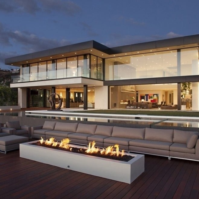 Casas de lujo modernas blog de inmobiliaria promora for Interiores casas de lujo