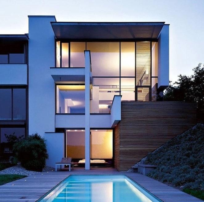 Casas de lujo modernas blog de inmobiliaria promora - Casas diseno moderno ...
