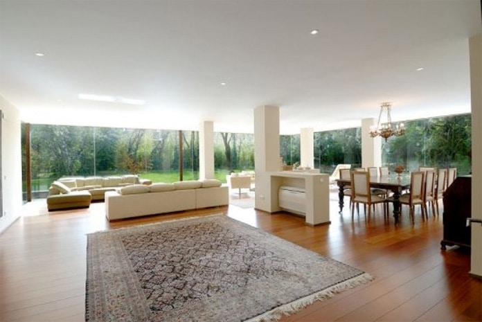 Casas de lujo modernas blog de inmobiliaria promora - Salones de casa modernos ...