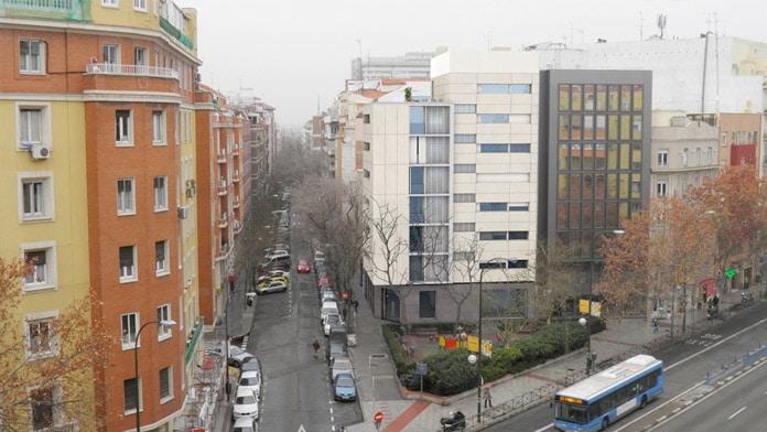 Promoción de pisos en el Barrio de Salamanca