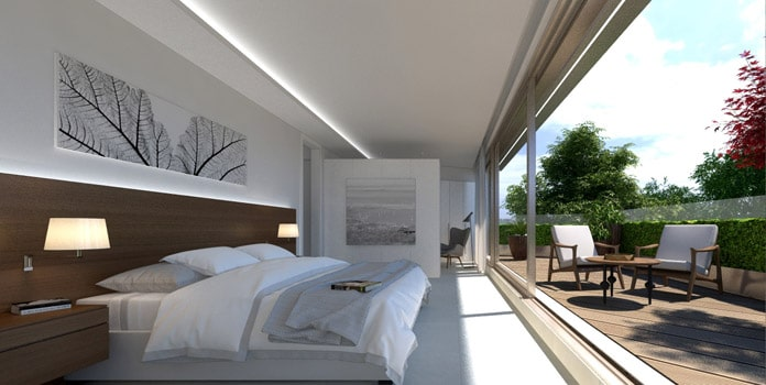 Habitación principal the clover residencial