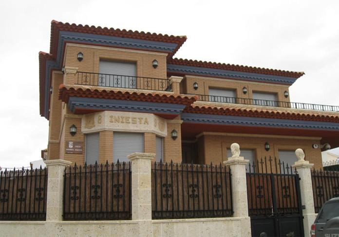 Chalet de Andres Iniesta