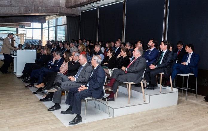 Promora inversiones en la presentación del edificio Oxxeo