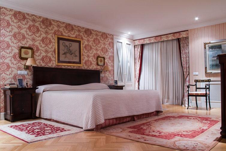 Dormitorio piso Retiro Madrid