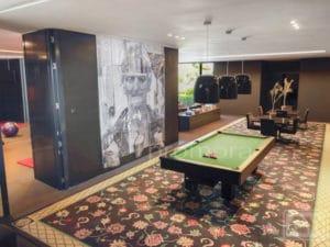 Games room im villa La Finca