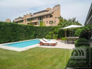 Private garden pool flat in La Finca