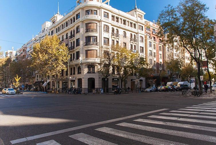 Barrio de Salamanca en Madrid