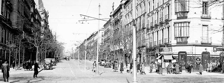 Barrio de Salamanca en los años 30