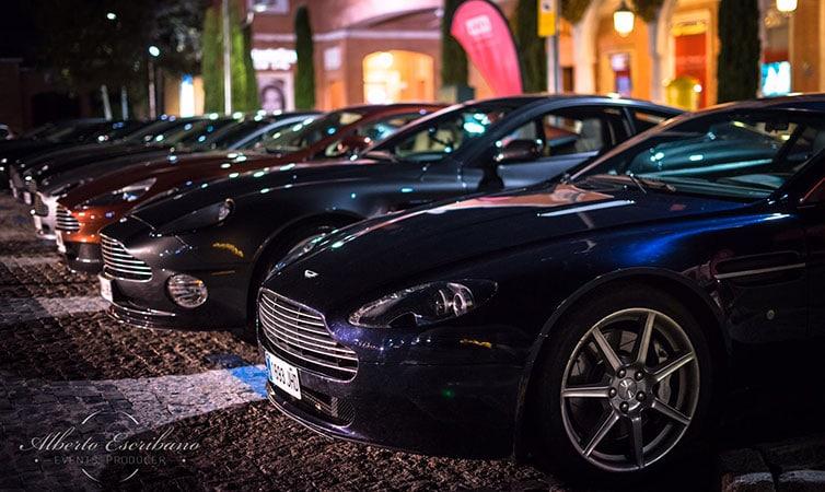 Aston Martin en la Moraleja