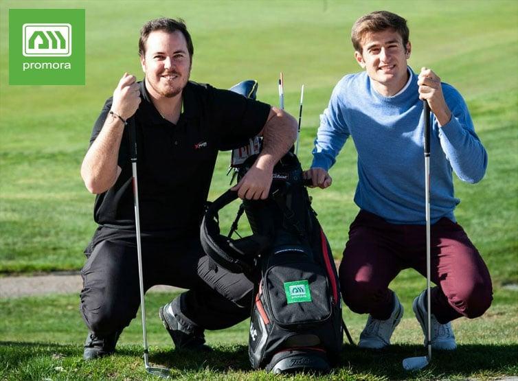 Promora patrocina jugadores de golf
