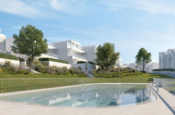 Venta pisos y chalets obra nueva promora for Piscina delfin madrid